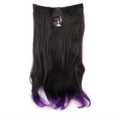 Seven 7 Revolution Hairclip Ombre Lurus No 5 - Hair Clip Klip Korea Ombre Straight