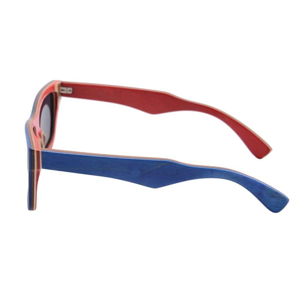Polarized Lens SHINU Baru Fashion Kayu Kacamata Terpolarisasi Lensa Pria  Wanita Vintage Klasik Sunglasses 68020 (Biru) 62396897d1