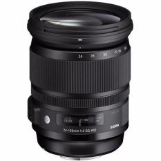 Sigma 24-105mm f/4 DG OS HSM Art Lens for Canon - Hitam