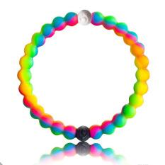 Silicone Lokai Gelang Rainbow Kamuflase-Ukuran S