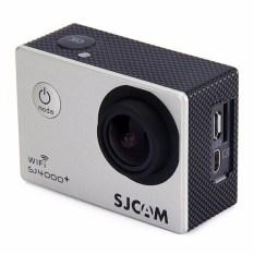 SJCAM SJ4000 + PLUS WIFI Olahraga Aksi Kamera 2 K HelmetCamcorderRecorder DV Perak