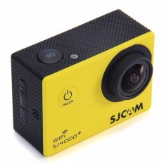 SJCAM SJ4000 + PLUS WIFI Olahraga Aksi Kamera 2 K HelmetCamcorderRecorder DV Kuning