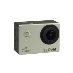 SJCAM SJ4000 + PLUS WIFI Olahraga Aksi Kamera 2 K HelmetCamcorderRiding Perekam DV Perak