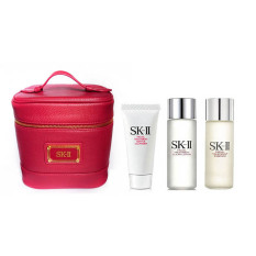 Beli Sk Ii Paket 3 Basic Dengan Kosmetik Bag Original Sk Ii Asli