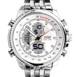 Spesifikasi Skmei Casio Men Sport Led Watch Water Resistant 50M Ad0993 White Lengkap Dengan Harga