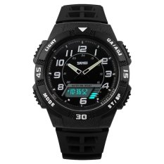 Jual Skmei Casio Men Sport Led Watch Water Resistant 50M Ad1065 Putih Branded