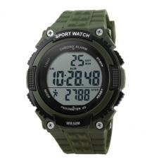 Promo Skmei S Shock Pedometer Sport Watch Water Resistant 50M Dg1112S Army Green Skmei