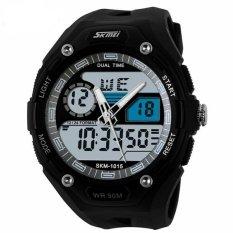Iklan Skmei S Shock Sport Watch Water Resistant 50M Ad1015 White Black