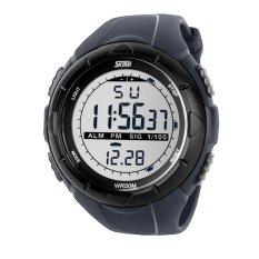 Spesifikasi Skmei S Shock Sport Watch Water Resistant 50M Dg1025 Gray Murah Berkualitas