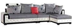 Sofa Sudut L Minimalis Modern B&W