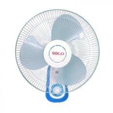 Sogo Wall Fan SG1666 - Biru