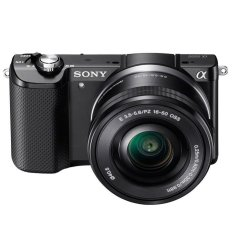 Sony Alpha a5000 Kamera + Lensa16-50mm - Hitam