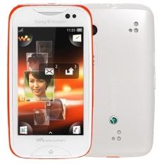 Sony Ericsson Mix Walkman WT13i - 100MB - Putih-Orange