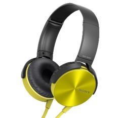 Jual Sony Extra Bass Headphone Xb450Ap Kuning Sony Di Dki Jakarta