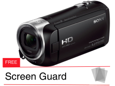 Beli Sony Hdxr Cx 405 Hitam Gratis Screen Guard Seken