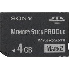Spesifikasi Sony Memory Stick Pro Duo Mark 2 4Gb Ms Mt4G Hitam Dan Harganya