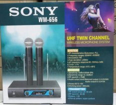 Jual Sony Microphone Mic Wireless Wm 656 Import
