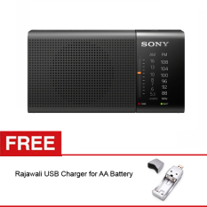 Toko Sony Mini Radio Icf P36 Am Fm Free Usb Charger For Aa Battery Online Jawa Barat
