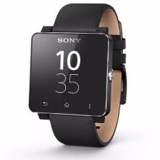 Harga Sony Smartwatch 2 Jam Tangen Unisex Hitam Leather Wristband Sw2 Black Dan Spesifikasinya