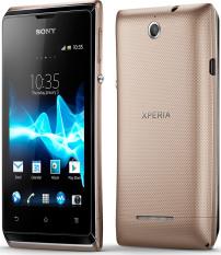 Sony Xperia E Dual - 4GB - Gold
