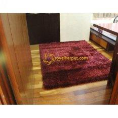 Toko Spectrum Karpet Permadani Turkey Shaggy 0872 Merah Online