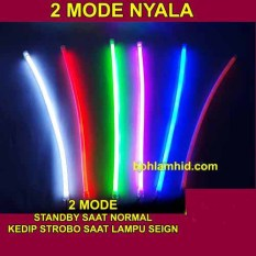 Jual Spextrum Led Drl Flexible 60Cm Lampu Alis Motor 2 Mode Standby Stroboled Chip Osram Spextrum Di Indonesia