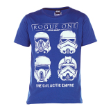 Jual Star Wars Rogue One The Galactic Empire T Shirt Biru Navy Lengkap