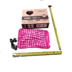 Jual Starjakarta Bantal Penghangat Tubuh Musim Dingin Pink Motif Branded