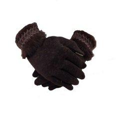 Jual Starjakarta Sarung Tangan Musim Dingin Wanita Katun 304 Coklat Termurah