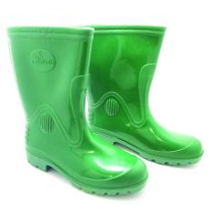Steffi Sepatu Boots Karet Hijau - Tinggi 29,5cm