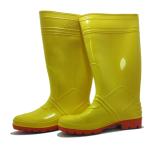 Jual Steffi Sepatu Boots Karet Kuning Tinggi 41 Cm Grosir