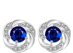 Anting Sterling Silver, 925 Murni Perhiasan Perak, Grosir Fashion Jewelry