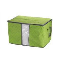 Storage and Organizer Bag Clothes And Blankets Organizer Tidur - Hijau