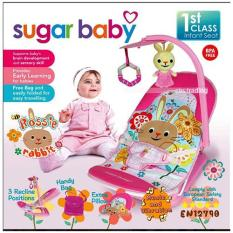 Jual Sugar Baby 1St Class Fold Up Infant Seat With Melodies And Soothing Vibrations Kursi Lipat Bayi Rossie Rabbit Import