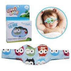 Sunny Baby Eyemask Pelindung Mata Bayi Pada Saat Tidur / Dijemur di Bawah Sinar Matahari - Mix Motif Boy