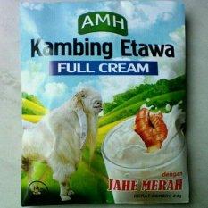 Spek Susu Kambing Etawa Full Cream New Original 10 Sachet Plus Jahe Merah