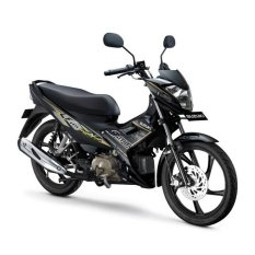 Suzuki Satria F115 Young Star - Titan Black - Uang muka cicilan