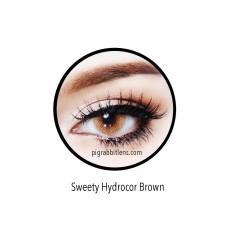 Review Terbaik Sweety Hydrocor Brown Softlens Minus 3 00 Gratis Lenscase