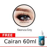 Beli Sweety Kwanusa Grey Softlens Gratis Cairan 60Ml Gratis Lenscase Online Indonesia