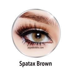 Spesifikasi Sweety Plus Spatax Brown Softlens Minus 1 25 Gratis Lenscase Sweety Terbaru