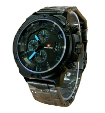Swiss Army 6285 Hitam Biru Indonesia Diskon