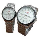Jual Beli Swiss Army Jam Tangan Couple Sa 0015Cp Silver Putih Stainless Steel Dki Jakarta