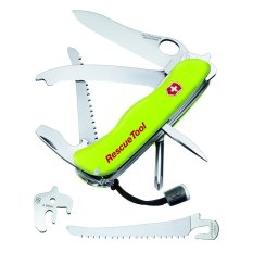 Harga Swiss Army Knife Rescue Tool Hijau Seken