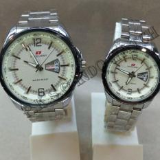 Jual Beli Swiss Army Sap K S G 7787 Silver White Tanggal Hari Jam Tangan Couple Stainless Steel Jawa Barat