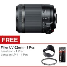 Tamron AF 18-200mm f/3.5-6.3 DiII VC for Canon + Gratis Lenshood + UV Filter 62mm + Lenspen LP-1