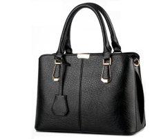 Tas Import Branded 100% Korea Tas Kerja Tas Fashion 6602 Black