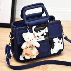Tas Fashion Latest Korean Trendy Bag Blue Terbaru
