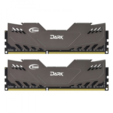 Beli Team Dark Ddr3 8Gb 4X2 Pc2400 Grey Dengan Kartu Kredit