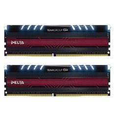 Team Delta WHITE DDR4 8GB (4GB X 2 ) PC 2400 - Putih