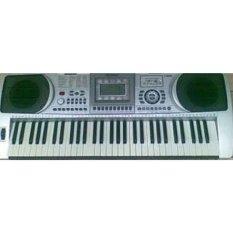 Cara Beli Techno Keyboard T 9800I Silver